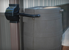 Rain Barrel and Diverter Installation