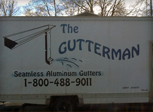 The Gutterman - Seamless Alumninum Gutters